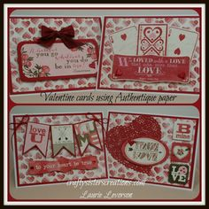 basic grey true love cards | More Valentine's Day Cards! | Crafty Sisters Creations