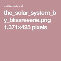 the_solar_system_by_blissreverie.png 1,371×425 pixels