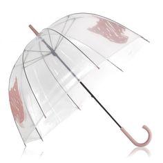 Scribble Dog,�Non Telescopic Umbrella - Haven't had a clear umbrella since I was a teenager