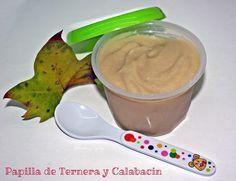 Papilla de Ternera y Calabacines (Potito Bebe) | Recetas de una Gatita Enamorada