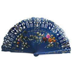 """This fan is made out of light weight-wood so it is easy on your wrist when you use it. It is perfect as a decorative accent piece, or to collect (there are many styles), we have stands available especially for fans. They are a work of art in every detail. Each fan comes in a beautiful box.  8.5 x 15"""""""