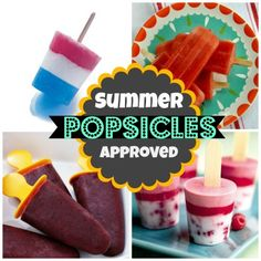 Summer Approved Popsicles   Spoonful