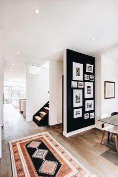 Black Gallery Wall Ideas - #diy #diyprojects #diyideas