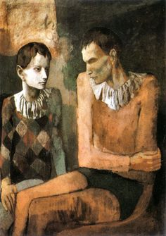 Acrobat and young harlequin, 1905, Picasso's Rose Period