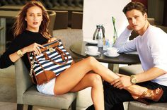 mk cat004 800x532 Simon Nessman Plays It Cool for Michael Kors Spring/Summer 2013 Catalogue