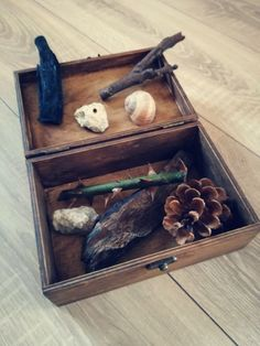 WOOD NATURAL ITEMS ART - SpringHere [ Relax Box ]
