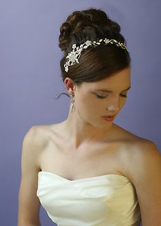 Crystal Wedding Hair Jewelry