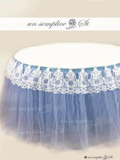 Tulle Tutu Table Skirt Swags Accessories