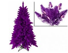 purple christmas tree ( I want this sooooooooooo bad!)