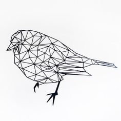 Tattoo Silhouette, Bird Silhouette, Blank Coloring Pages, Online Coloring Pages, Geometric Drawing, Geometric Art, Vogel Tattoo, Chip Carving, Collages