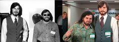 Ashton Kutcher vs Steve Jobs intr-o comparatie foto inedita