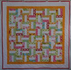simple jelly roll quilt
