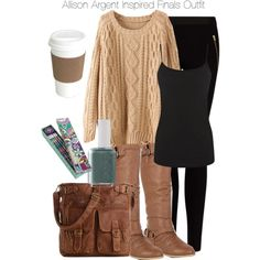 """""""Teen Wolf - Allison Argent Inspired Finals Outfit"""" by staystronng on Polyvore"""