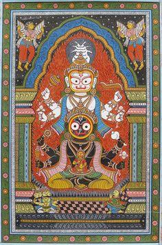 Odisha Patachitra Création