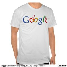 Happy Valentine's Day from Google Doodles