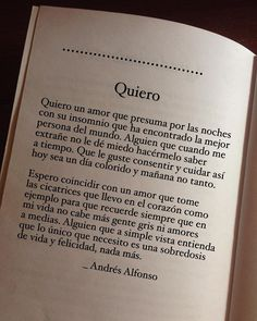Un amor así. Love Phrases, Love Words, Song Quotes, Poetry Quotes, Meaningful Quotes, Inspirational Quotes, Motivational, Frases Love, Quotes En Espanol