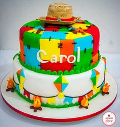 Bolo Jake, Bolo Minnie, Cupcake Cakes, Cupcakes, Biscuits, Birthday Cake, Cookies, Desserts, Food