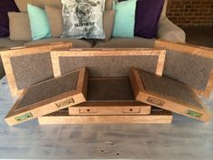 Our new solid Meranti  floating cat shelves!  #handmade #candycat #animalenrichment #catification #solidwood #southafrica #jozi