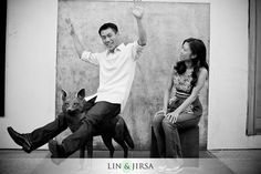 Pasadena Engagement Session Photography | Billy & Jen