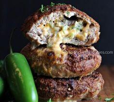 Jalapeno Cheddar Burgers
