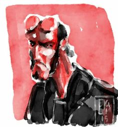 #comics #watercolor #hellboy #mikemignola