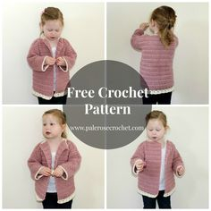 Crochet Patterns Galore - Frilly Toddler Cardigan