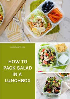 Mouthwatering salad ideas and recipes that will keep you healthy and make you WANT to eat a salad every day. Box Lunches, Lunch Box, Lunch Recipes, Real Food Recipes, I Love Food, Good Food, Roasted Fall Vegetables, Cranberry Quinoa Salad, Greek Chicken Salad