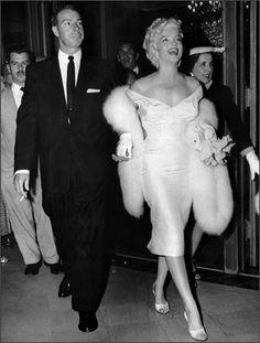 Joe DiMaggio e Marilyn Monroe, 1950