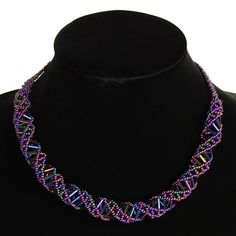 DNA Beaded Necklace