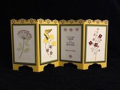 Daffodil Delight Screen Card by razldazl - Cards and Paper Crafts at Splitcoaststampers