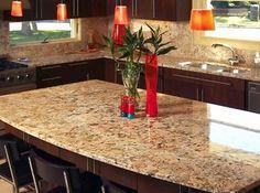 Solarius Granite - modern - kitchen countertops - richmond - Colonial Granite Works