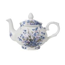 Bristol China 'Forget Me Not' 4-Cup Teapot