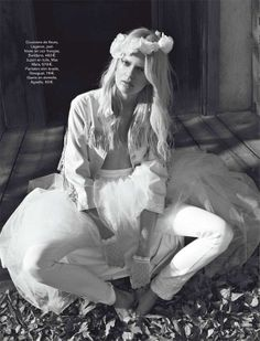 Bohemian Bride Editorials - The White Escape Glamour France Photoshoot is Hippie Chic