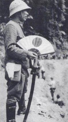 Japanese 5th Division officer near Kuala Lumpur, Malaya, Jan-Feb 1942