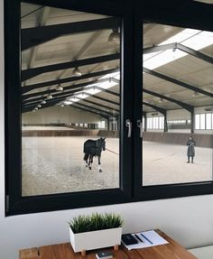 W Stables indoor riding arena