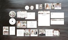 Photography Marketing Set by Design by Bittersweet on @creativemarket