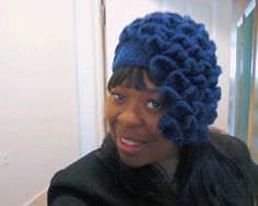 me wearing my Virtuous Diva Hat checkout my page on facebook https://www.facebook.com/pages/Virtuous-Creations-by-Neecie-II/226343860759380