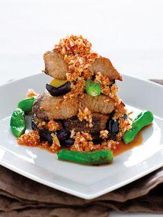 【ELLE a table】かつおのソテー辛味しょうゆかけレシピ|エル・オンライン