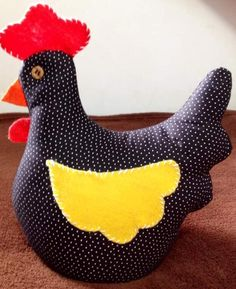 Cluck Cluck Sew, Sewing Projects, Projects To Try, Chicken Art, Baby Crafts, Baby Sewing, Dinosaur Stuffed Animal, Applique, Quilts