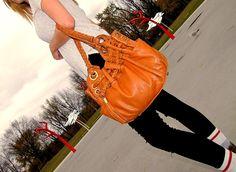 Pre Owned authentic  Michael Kors braided grommet bag Price: 50$  FashionWoo ship throughout Canada and US #fashionwoo #michaelkors #fashionista #ashiontrends #preowned #fall2015 Balenciaga City Bag, Handbags Michael Kors, Designer Handbags, Satchel, Louis Vuitton, Canada, Ship, Shoulder Bag, Fashion Trends
