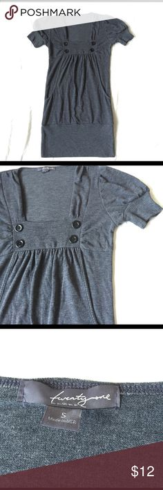 Forever 21 short sleeve knit dress Excellent condition! Bundle 3 and save 15%! Forever 21 Dresses