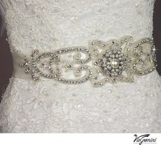 Bridal sash Wedding sash Bridal belt bridesmaids sash by VioGemini, $139.99