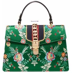 EDITOR'S PICK – GUCCI SYLVIE LARGE JACQUARD AND LEATHER TOTE «  Fashion Blog
