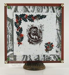Winter Scene Card by Candy S. - Cards and Paper Crafts at Splitcoaststampers