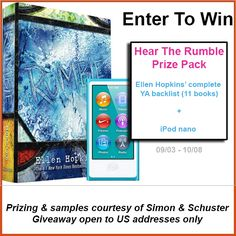 Enter To Win: HEAR THE RUMBLE prize pack Giveaway