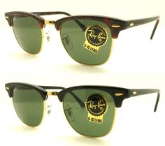 0182b93515 Ray Ban Clubmaster RB 3016 Authentic Sunglasses Buyer Picks Size Sunglasses  Outlet