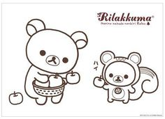 free printable rilakkuma pages for coloring perfect for a rainy day