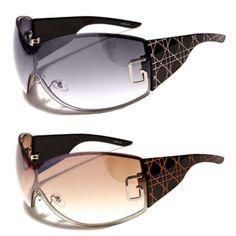 New-DG-Womens-Sunglasses-Designer-Fashion-Rimless-Eyewear-Black-Shades-Oversized
