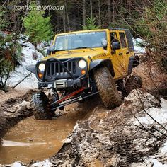 "#follow @ironhornetoffroad ""Out stretching her legs a big. #jeep #jeepporn…"