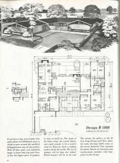 visit the post for more mid century floor plans pinterest